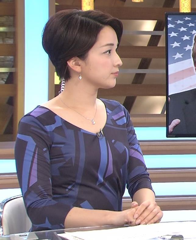 酒井美帆アナ ショートカット美人アナキャプ・エロ画像