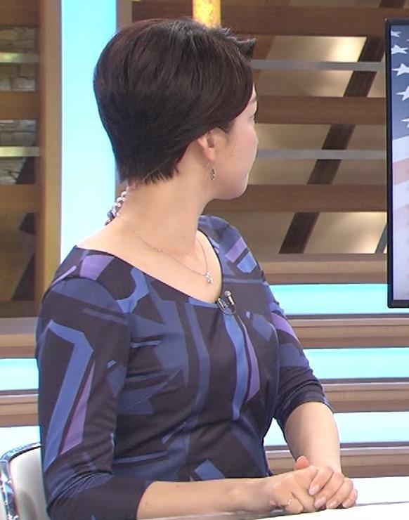 酒井美帆アナ ショートカット美人アナキャプ・エロ画像4