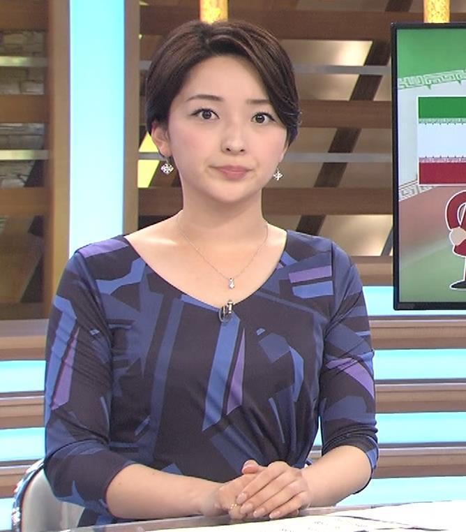 酒井美帆アナ ショートカット美人アナキャプ・エロ画像6