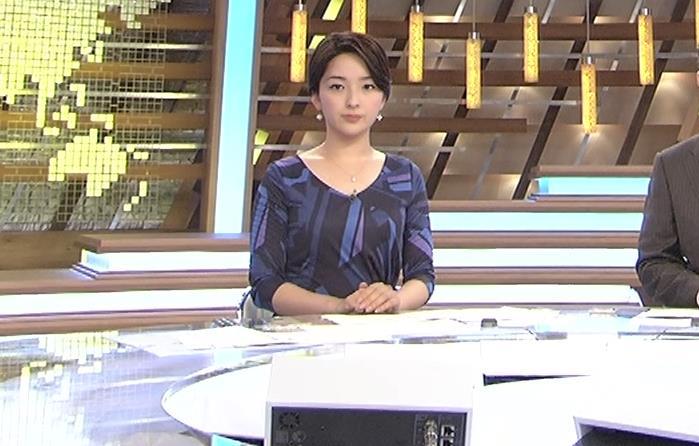 酒井美帆アナ ショートカット美人アナキャプ・エロ画像8