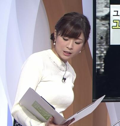 坂木萌子アナ 水着グラビアでもやると人気でそうな巨乳フリーアナキャプ・エロ画像2