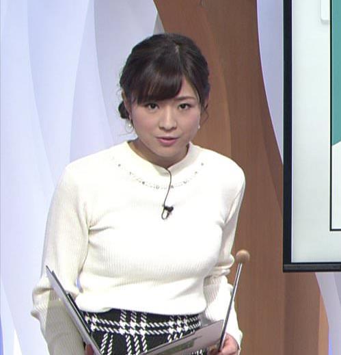 坂木萌子アナ 水着グラビアでもやると人気でそうな巨乳フリーアナキャプ・エロ画像3