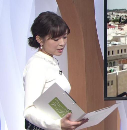坂木萌子アナ 水着グラビアでもやると人気でそうな巨乳フリーアナキャプ・エロ画像4