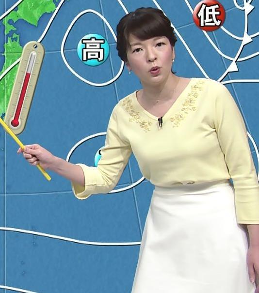お胸が大きめの気象予報士キャプ・エロ画像2