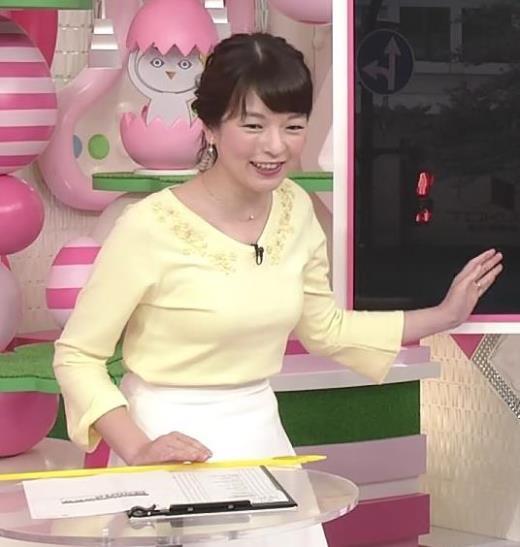 榊菜美 お胸が大きめの気象予報士キャプ画像(エロ・アイコラ画像)