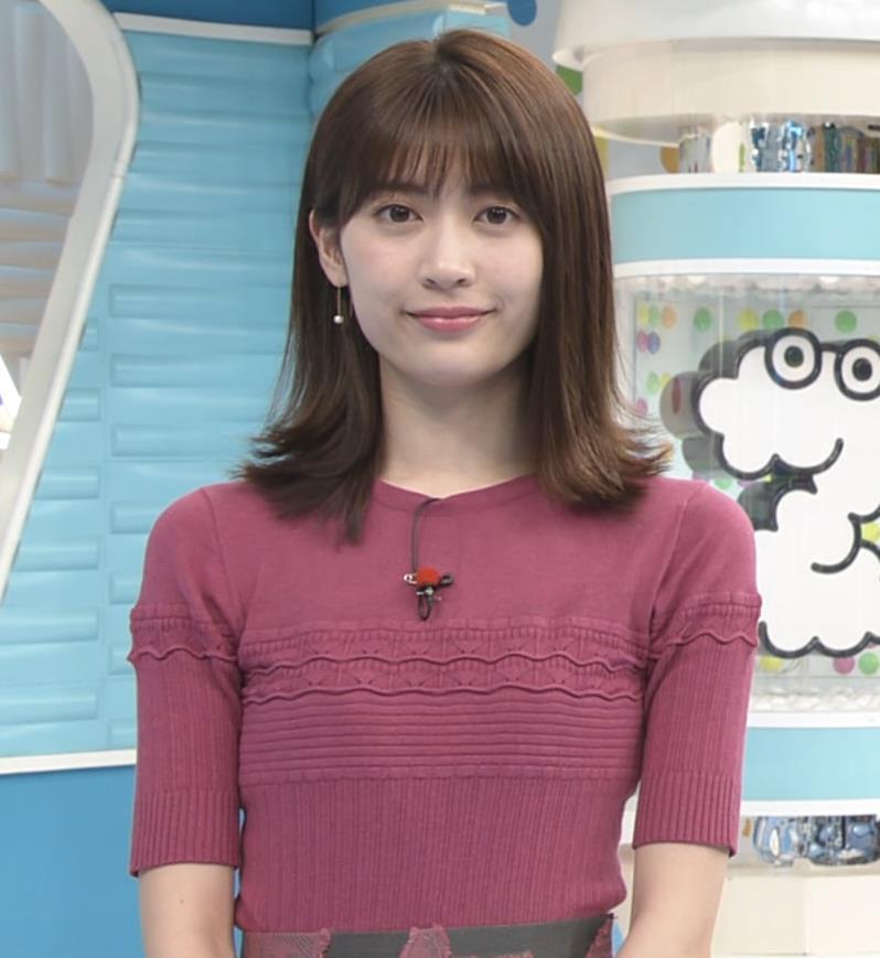 榊原美紅 モデルのニット乳と疑似フェラキャプ・エロ画像3