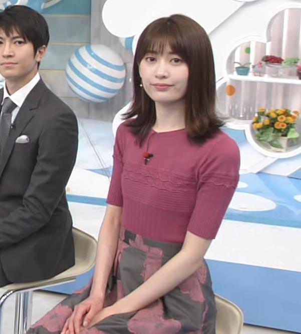 榊原美紅 モデルのニット乳と疑似フェラキャプ・エロ画像4