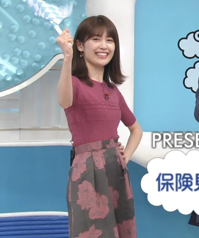 榊原美紅 モデルのニット乳と疑似フェラキャプ・エロ画像5