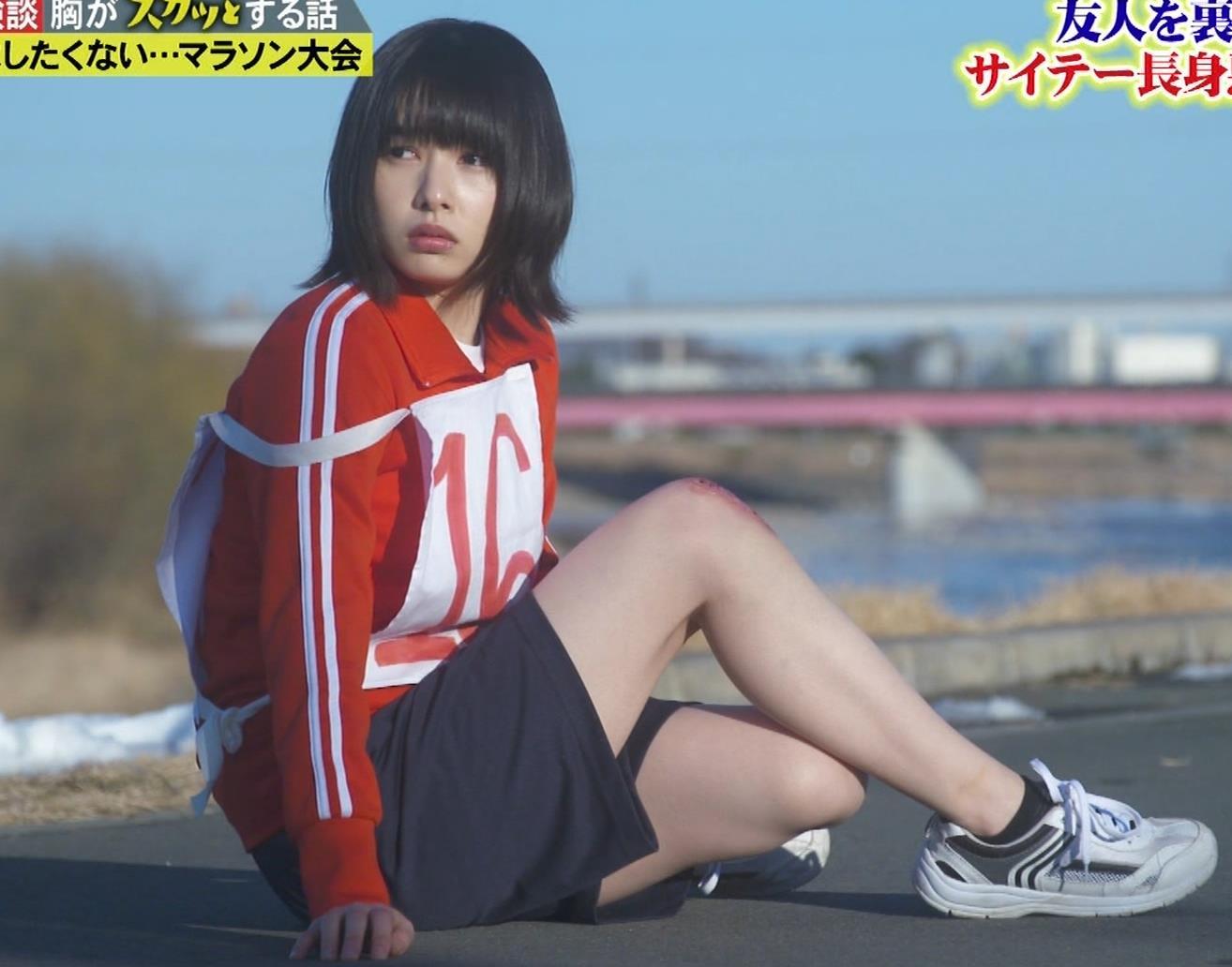 桜井日奈子 (女子高生役)体操服で脚露出キャプ・エロ画像14