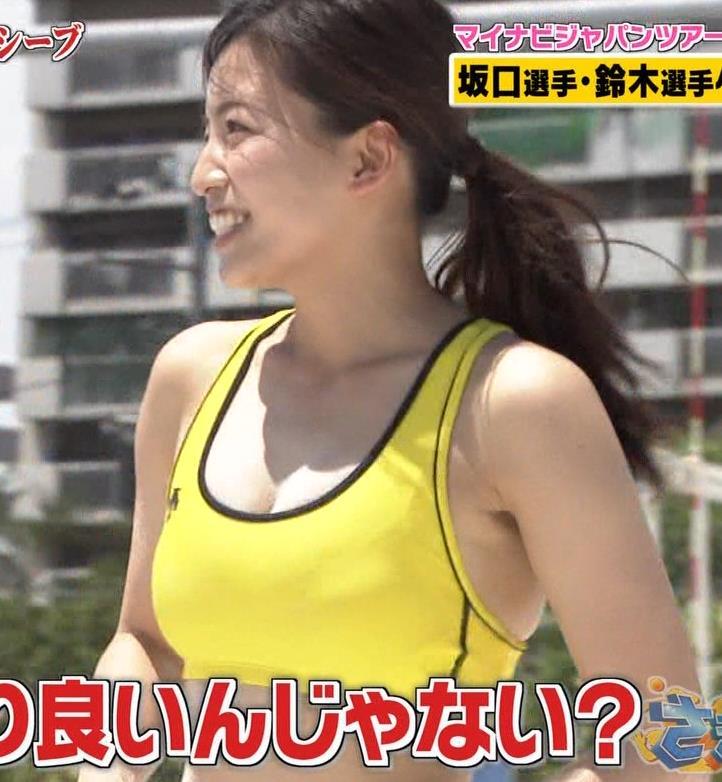 佐野マリア 巨乳グラドルがビーチバレーをさらにエロくするキャプ・エロ画像17