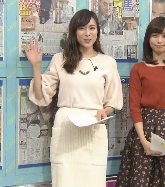 笹川友里アナ タイトなロングスカートもエロいキャプ・エロ画像3