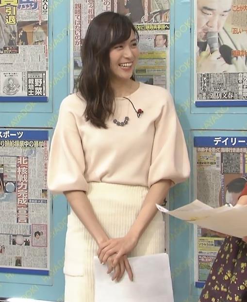 笹川友里アナ タイトなロングスカートもエロいキャプ・エロ画像4
