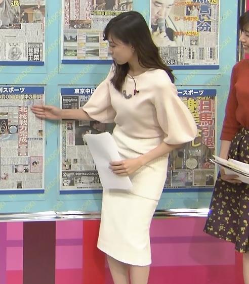 笹川友里アナ タイトなロングスカートもエロいキャプ・エロ画像5