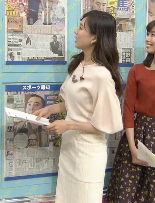 笹川友里 タイトなロングスカートもエロいキャプ画像(エロ・アイコラ画像)