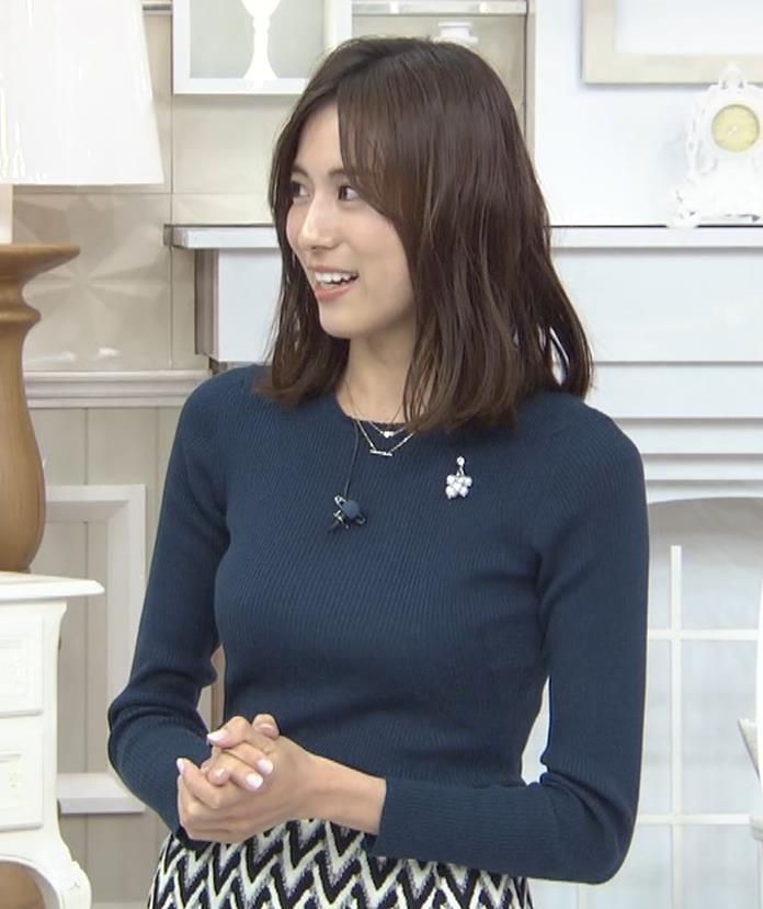 笹川友里アナ いつもタイトめなニット着てる気がするキャプ・エロ画像3