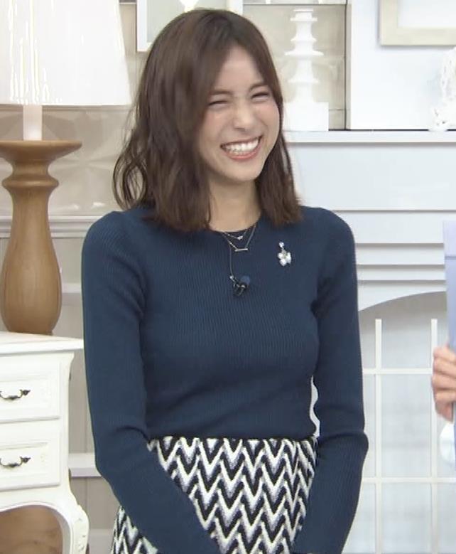 笹川友里アナ いつもタイトめなニット着てる気がするキャプ・エロ画像6
