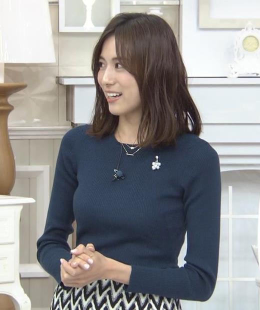 笹川友里 いつもタイトめなニット着てる気がするキャプ画像(エロ・アイコラ画像)