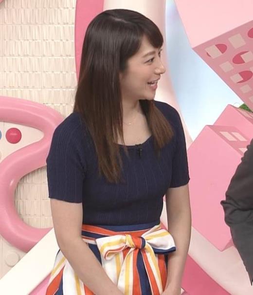笹崎里菜  「Oha!4 NEWS LIVE」キャプ画像(エロ・アイコラ画像)