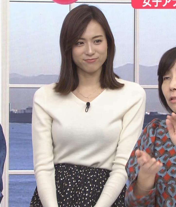 笹川友里アナ ニットも表情もエロい人妻アナキャプ・エロ画像2