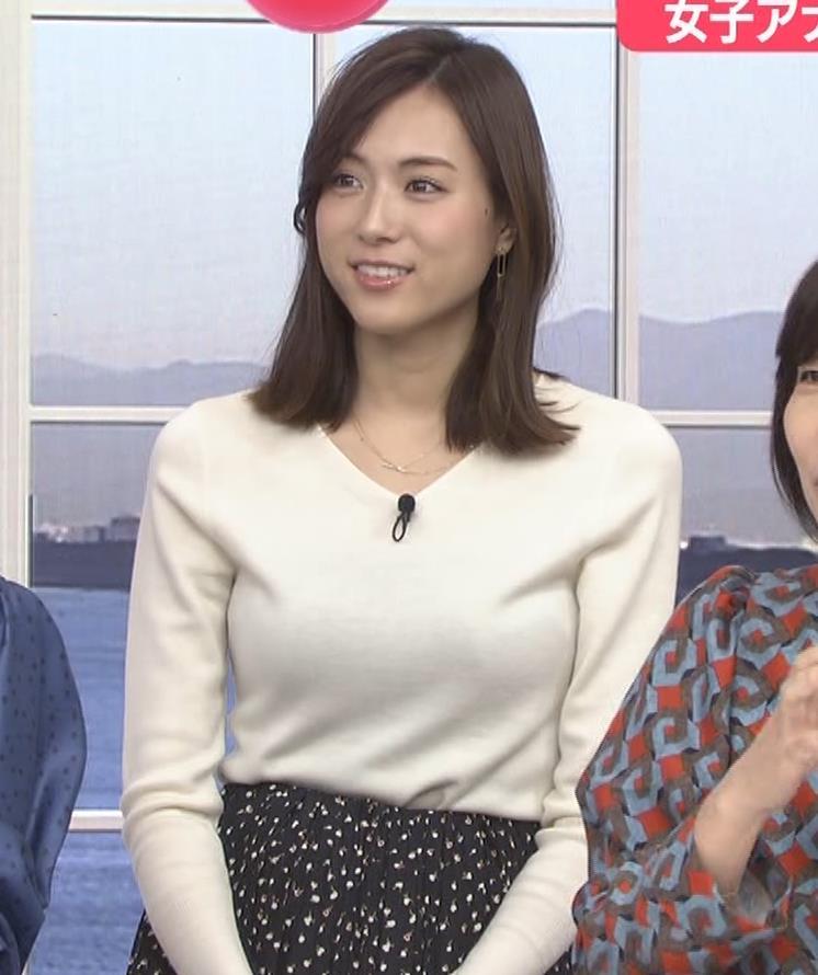 笹川友里アナ ニットも表情もエロい人妻アナキャプ・エロ画像3