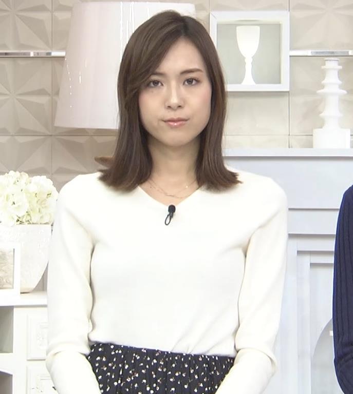 笹川友里アナ ニットも表情もエロい人妻アナキャプ・エロ画像4