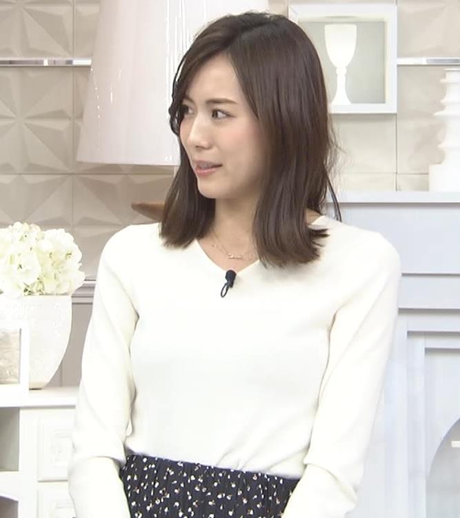 笹川友里アナ ニットも表情もエロい人妻アナキャプ・エロ画像5