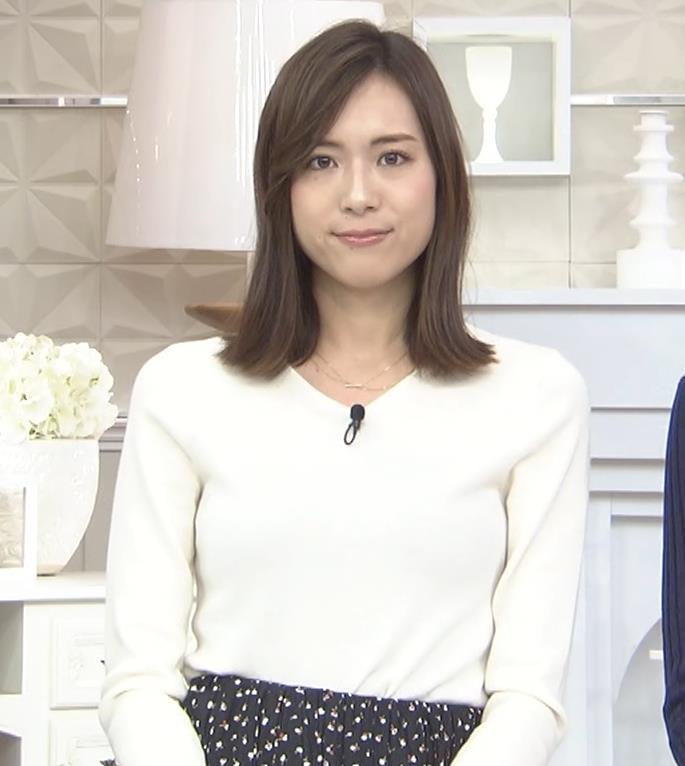 笹川友里アナ ニットも表情もエロい人妻アナキャプ・エロ画像6