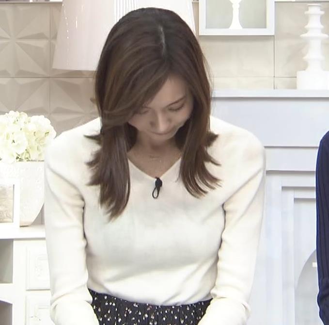 笹川友里アナ ニットも表情もエロい人妻アナキャプ・エロ画像7
