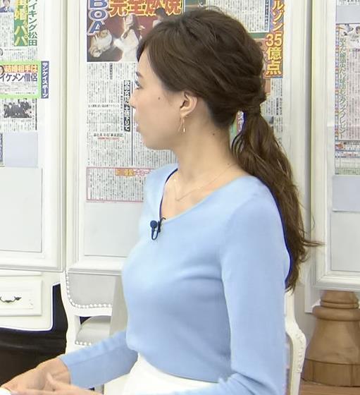 笹川友里アナ 清楚系巨乳アナキャプ・エロ画像6