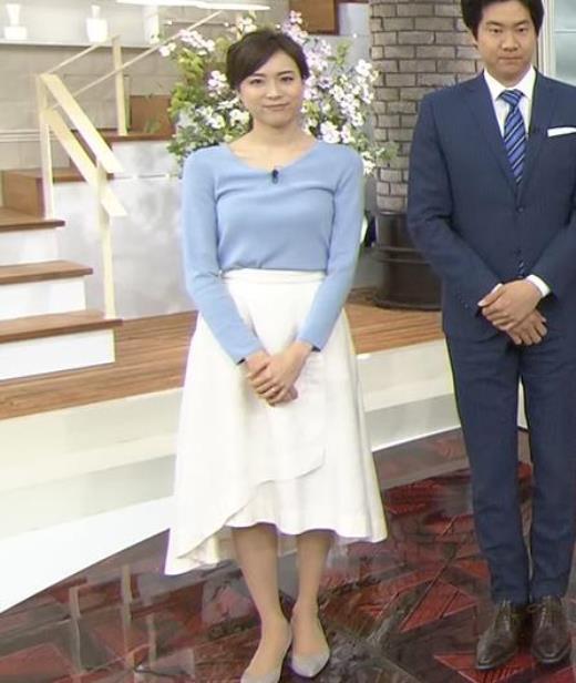笹川友里 清楚系巨乳アナキャプ画像(エロ・アイコラ画像)