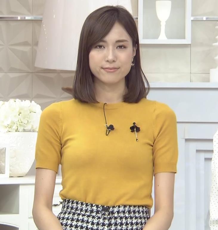 笹川友里アナ エッチな胸のふくらみキャプ・エロ画像