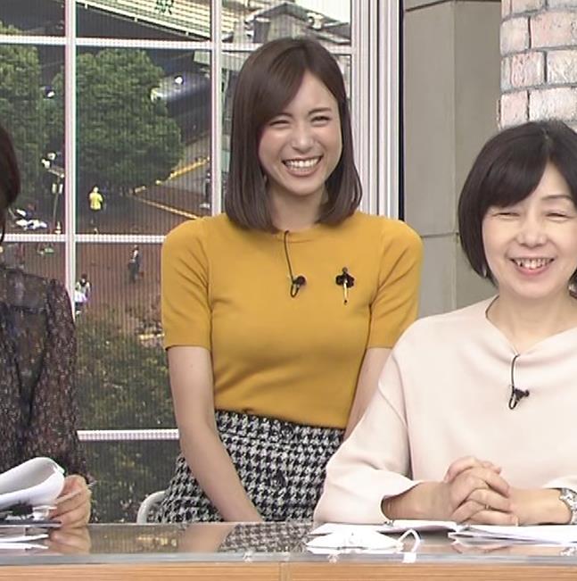 笹川友里アナ エッチな胸のふくらみキャプ・エロ画像7