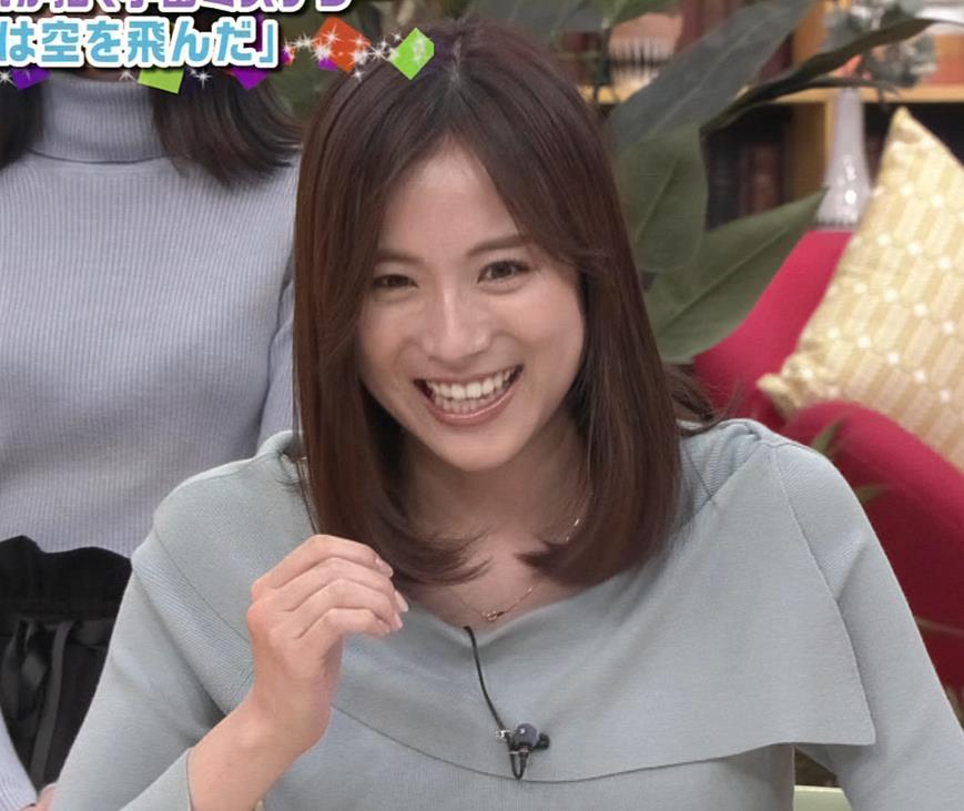 笹川友里アナ 妊娠でお腹がポッコリだけど、おっぱいがエロいキャプ・エロ画像4