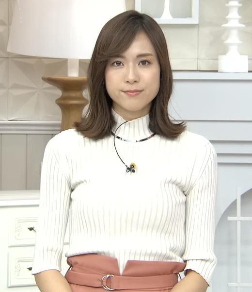 笹川友里アナ 縦縞でおっぱいらのラインがエロいキャプ・エロ画像5