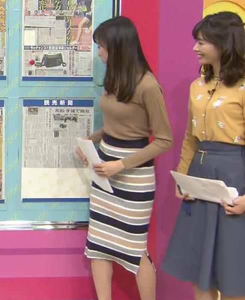 笹川友里アナ 美人・巨乳・女子アナ・人妻のニットおっぱいキャプ・エロ画像10