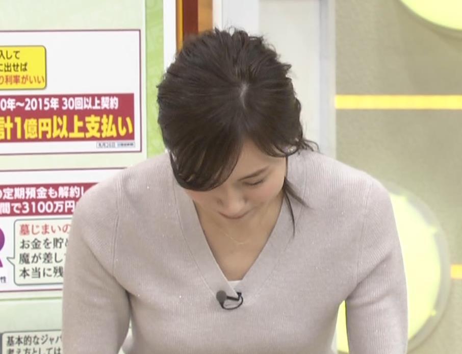 笹川友里アナ 細身なのに巨乳というエロいカラダキャプ・エロ画像18