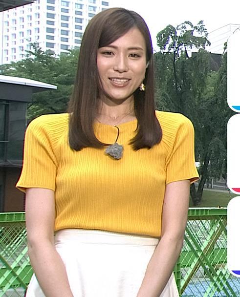 笹川友里アナ エロ過ぎなニット横乳キャプ・エロ画像3