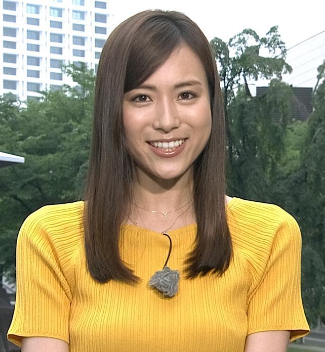 笹川友里アナ エロ過ぎなニット横乳キャプ・エロ画像4