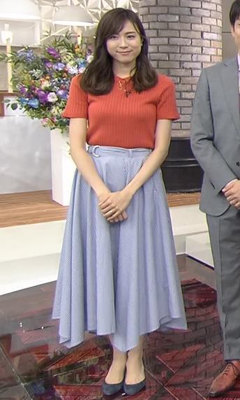 笹川友里 美人TBS女子アナの巨乳ニットキャプ・エロ画像3