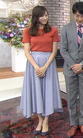 笹川友里 美人TBS女子アナの巨乳ニットキャプ・エロ画像4