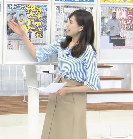 笹川友里 美人TBS女子アナの巨乳ニットキャプ・エロ画像6