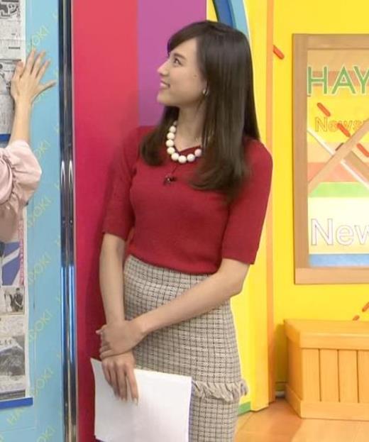笹川友里 ♡ニット乳キャプ画像(エロ・アイコラ画像)