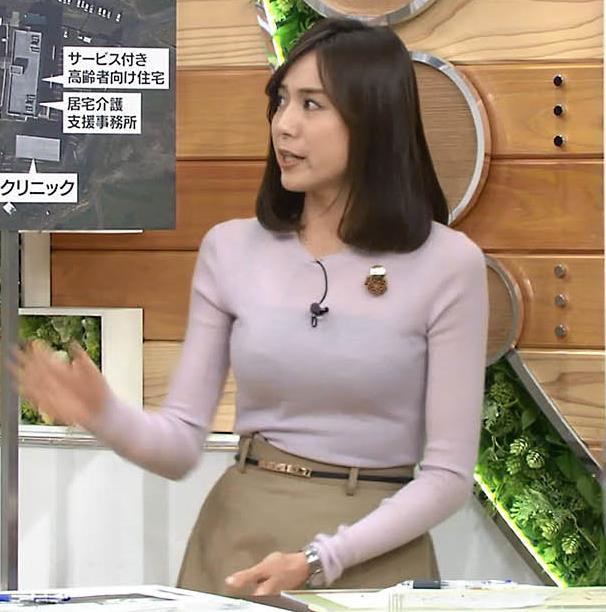 アナ 巨乳のキャミ透けキャプ・エロ画像2