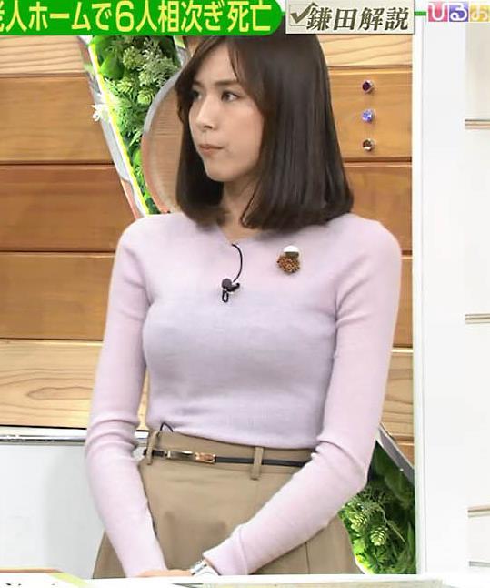 アナ 巨乳のキャミ透けキャプ・エロ画像4