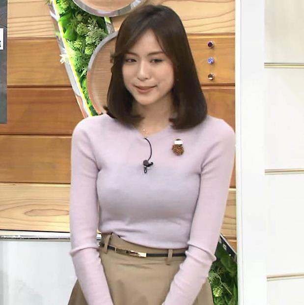 アナ 巨乳のキャミ透けキャプ・エロ画像8