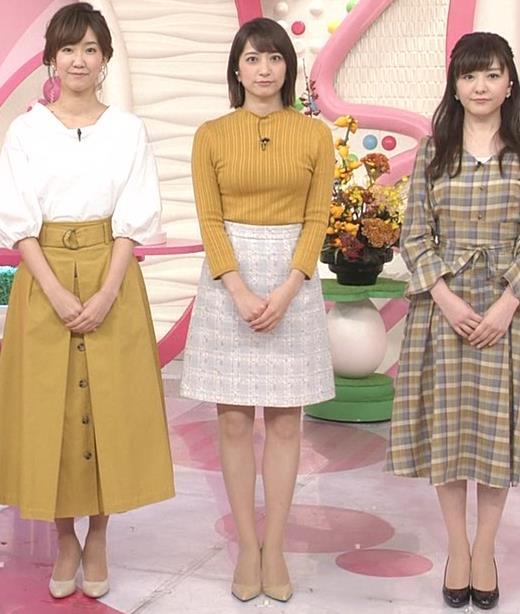 笹崎里菜アナ ピチピチの服のおっぱいキャプ・エロ画像