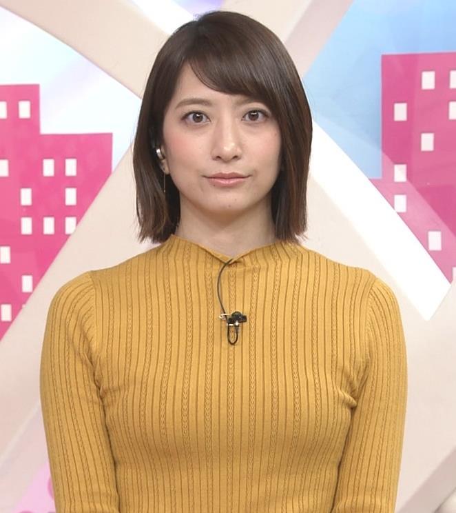 笹崎里菜アナ ピチピチの服のおっぱいキャプ・エロ画像7