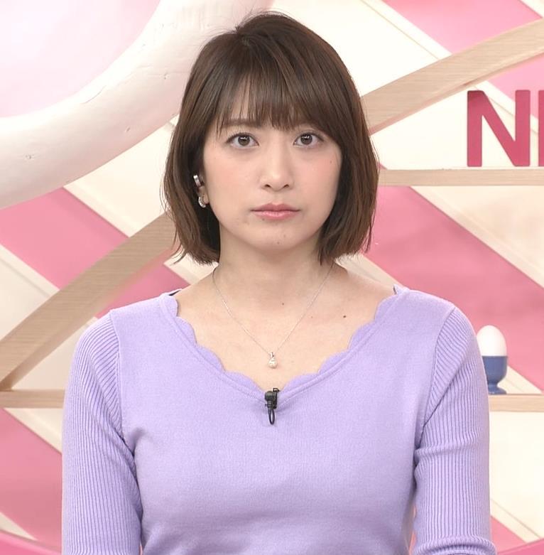 笹崎里菜アナ にっとおっぱいキャプ・エロ画像3