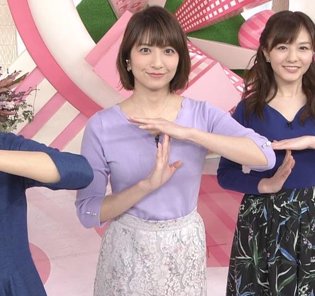 笹崎里菜アナ にっとおっぱいキャプ・エロ画像4