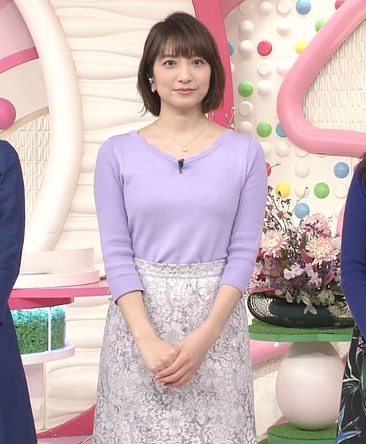 笹崎里菜アナ にっとおっぱいキャプ・エロ画像5